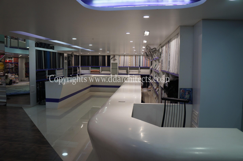 Saree Showroom D D Architects